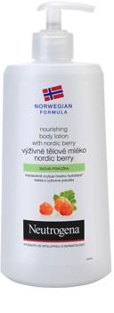 Neutrogena Norwegian Formula® Nordic Berry výživné telové mlieko  pre suchú pokožku