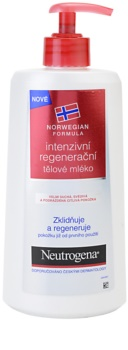 Neutrogena Norwegian Formula® Intense Repair Intensiv regenererende kropsmælk Til tør og sensitiv hud