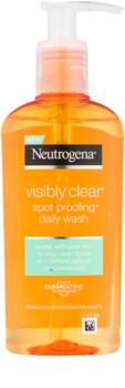 Neutrogena Visibly Clear Spot Proofing gel facial limpiador