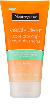 Neutrogena Visibly Clear Spot Proofing gommage lissant visage