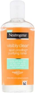 Neutrogena Visibly Clear Spot Proofing tónico micelar limpiador