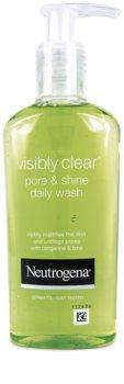 Neutrogena Visibly Clear Pore & Shine gel za čišćenje protiv sjaja kože lica i proširenih pora
