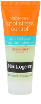 Neutrogena Visibly Clear Spot Stress Control crema hidratanta impotriva acneei