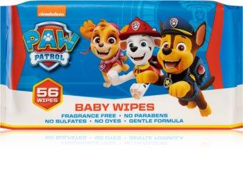 Nickelodeon Paw Patrol Baby Wipes dětské jemné vlhčené ubrousky