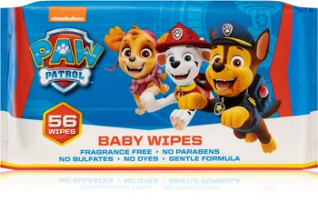 Nickelodeon Paw Patrol Baby Wipes Milde vådservietter til babyer