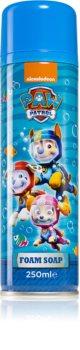 Nickelodeon Paw Patrol Foam Soap pěnové mýdlo na ruce a tělo pro děti