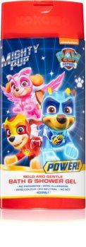 Nickelodeon Paw Patrol Bath & Shower Gel pěna do koupele a sprchový gel 2 v 1 pro děti