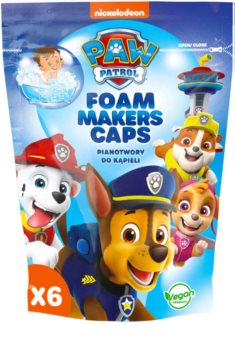 Nickelodeon Paw Patrol Foam Makers Caps пяна за вана  за деца