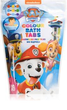 Nickelodeon Paw Patrol Colour Bath Tabs badeschaum für Kinder