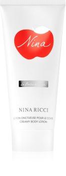 Nina Ricci Nina тоалетно мляко за тяло за жени