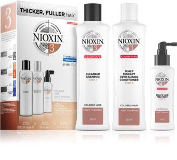 Nioxin System 3 Color Safe σετ δώρου για βαμμένα μαλλιά