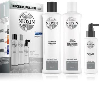 Nioxin System 1 Natural Hair Light Thinning Geschenkset