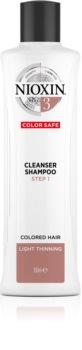 Nioxin System 3 Color Safe Cleanser Shampoo Reinigende Shampoo voor gekleurd en dun wordend Haar