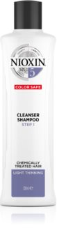 Nioxin System 5 Color Safe Cleanser Shampoo sampon de curatare pentru par vopsit