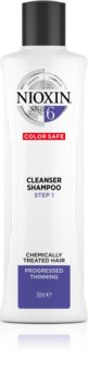 Nioxin System 6 Color Safe Cleanser Shampoo das Reinigungsshampoo für chemisch behandeltes Haar
