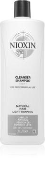 Nioxin System 1 Cleanser Shampoo čisticí šampon pro jemné až normální vlasy