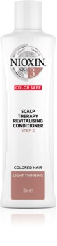 Nioxin System 3 Color Safe Scalp Therapy Revitalising Conditioner Moisturising and Nourishing Conditioner For Easy Combing