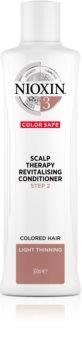 Nioxin System 3 Color Safe Scalp Therapy Revitalising Conditioner хидратиращ и подхранващ балсам за по-лесно разресване на косата