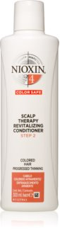 Nioxin System 4 Color Safe Scalp Therapy Revitalizing Conditioner mélyen tápláló kondicionáló a festett és károsult hajra