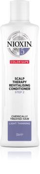 Nioxin System 5 Color Safe Scalp Therapy Revitalising Conditioner kondicionér pre chemicky ošterené vlasy