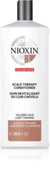 Nioxin System 3 Color Safe Scalp Therapy Revitalising Conditioner hydratační a vyživující kondicionér pro snadné rozčesání vlasů