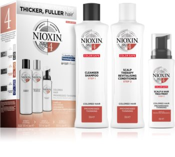 Nioxin System 4 Color Safe Gift Set For Colored Hair