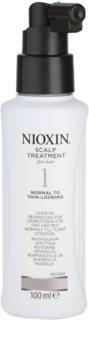 Nioxin System 1 tratamento de pele para cabelo fino e escasso