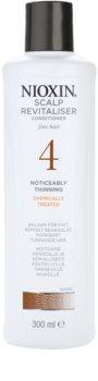 Nioxin System 4 condicionador para cabelo fraco, delicado e quimicamente tratado