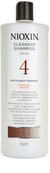 Nioxin System 4 champú para el cabello muy ralo, fino y químicamente tratado