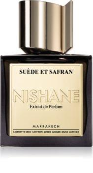 Nishane Suede et Safran Hajuveden Uute Unisex