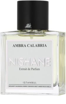 Nishane Ambra Calabria extrato de perfume unissexo