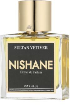 Nishane Sultan Vetiver extrato de perfume unissexo