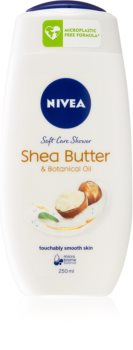 Nivea Shea Butter & Botanical Oil krémový sprchový gel