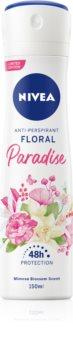 Nivea Floral Paradise Antiperspirant Spray 48 timer