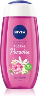 Nivea Floral Paradise ápoló tusoló gél