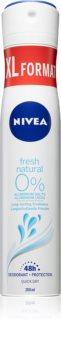 Nivea Fresh Natural дезодорант в спрей  48 часа