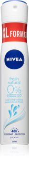 Nivea Fresh Natural Spray deodorant 48 timer