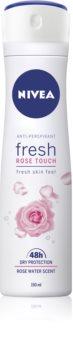 Nivea Fresh Rose Touch antiperspirant ve spreji 48h