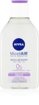 Nivea MicellAir  Skin Breathe gyengéd micellás víz az érzékeny arcbőrre
