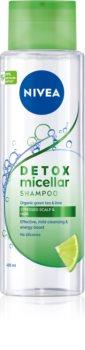 Nivea Pure Detox Micellar osvěžujicí micelární šampon