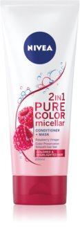 Nivea Pure Color Micellar pečující kondicionér pro barvené vlasy