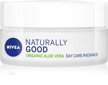 Nivea Naturally Good aufhellende Tagescreme mit Aloe Vera