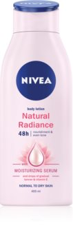 Nivea Natural Radiance Body Lotion With Effect Of Light Tan