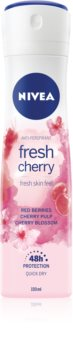 Nivea Fresh Blends Fresh Cherry Antiperspirant Spray 48h