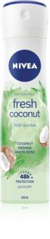 Nivea Fresh Blends Fresh Coconut αντιιδρωτικό σε σπρέι