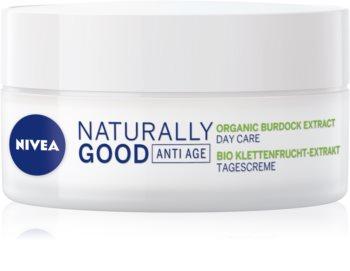 Nivea Naturally Good дневен крем против бръчки