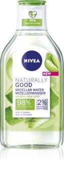 Nivea Naturally Good apa cu particule micele cu aloe vera
