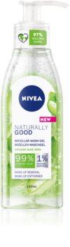 Nivea Naturally Good почистващ мицеларен гел