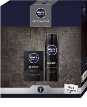 Nivea Men Deep Geschenkset (für die Rasur)