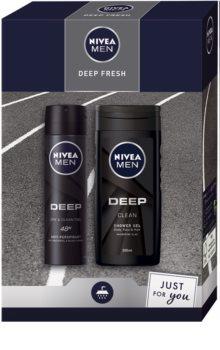 Nivea Men Deep подаръчен комплект (за тяло)